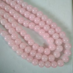 Glass Bead 10 mm Pale Pink